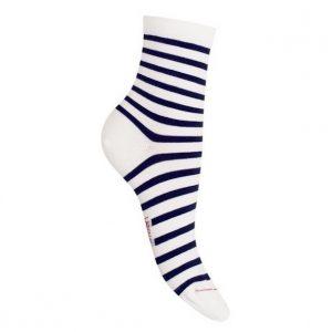 chaussettes modèle marinière depuis frogavenue