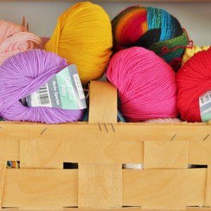 laines pour faire du tricot